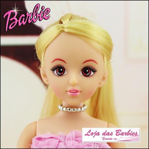 colar gargantilha p/ boneca barbie susi blythe licca pullip