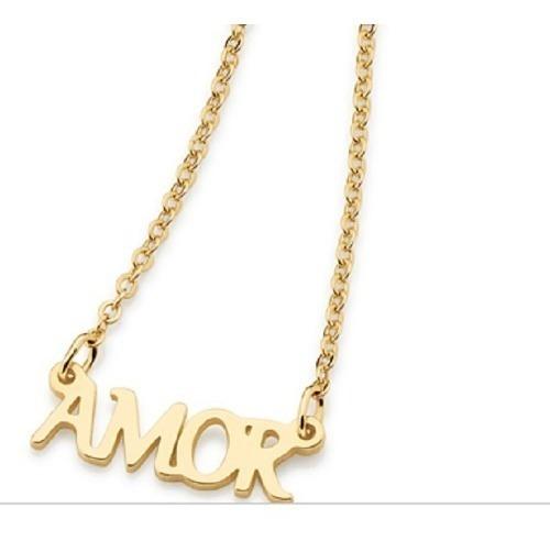 colar gargantilha rommanel amor 531718 med 50 cm semi joia