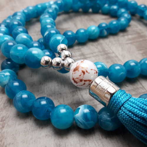 colar japamala  budismo ho´oponopono 108 contas