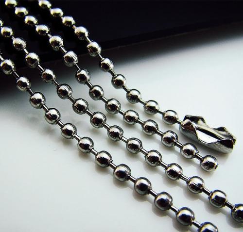 colar masculino aço azul prata pingente de cruz titânio