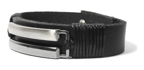 colar masculino tribal + pulseira de couro masculina legiâo