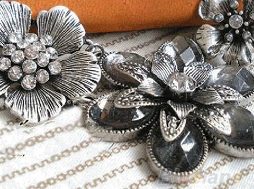 colar maxi colar prata