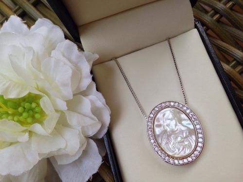 colar medalha - sagrado coração de jesus