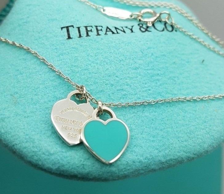 Colar Pendente Mini Return To Heart Tiffan Coração - R  160,00 em ... 7a98f6f65d