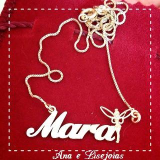 colar personalizado - colar com nome - colar com assinatura