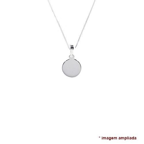 colar pingente e corrente de prata 925 cupido , amor