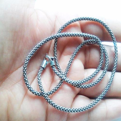 colar prata corrente