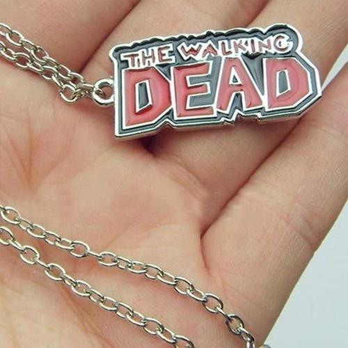 colar série the walking dead