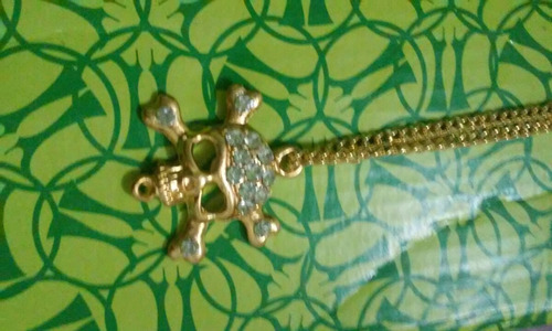 colar strass jóia