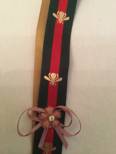 colar tecido gucciii ajustável comprado em atenas gravata