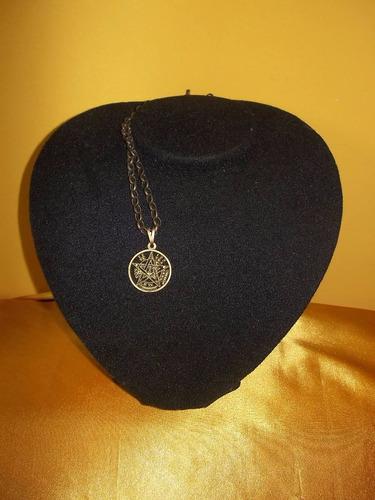 colar tetragramaton - ouro velho