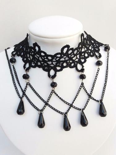 colares gargantilha bijuteria