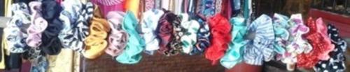 colas para damas y niñas variedad de colores