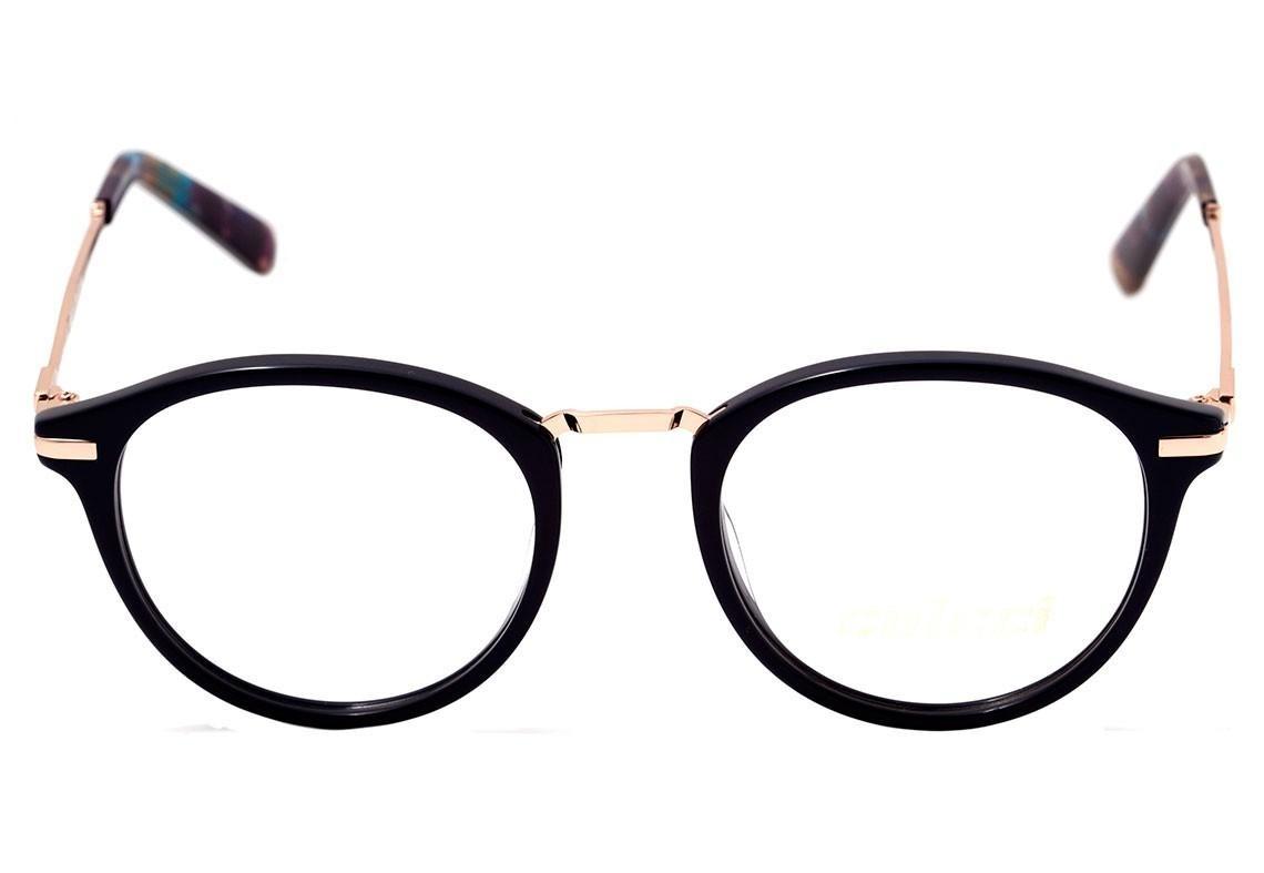 035975b476dde Colcci C6088 - Óculos De Grau Azul E Dourado Brilho Lente 4