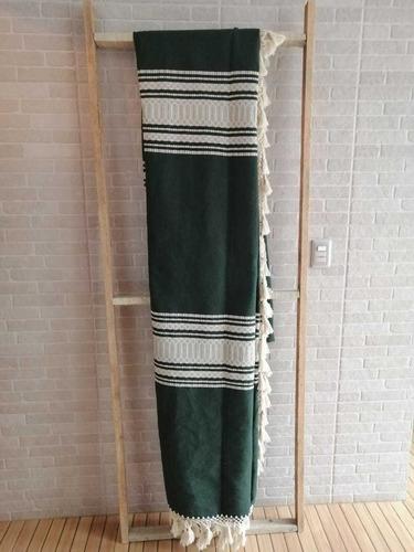 colcha artesanal oaxaqueña