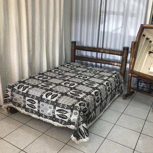 colcha cama casal estampada quarto 2,10m x 2,40m versalhes
