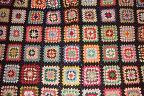 dbccece71 Colcha Crochet Una Plaza Vintage