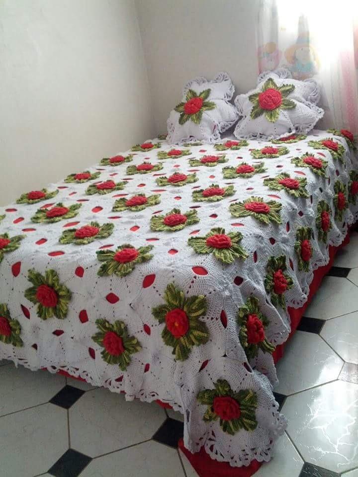 Colcha De Cama Croche Biquini R 50 00 Em Mercado Livre