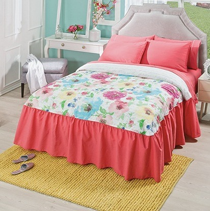 Colcha florida king size vianney envio gratis 1 for Cuanto cuesta una cama king size