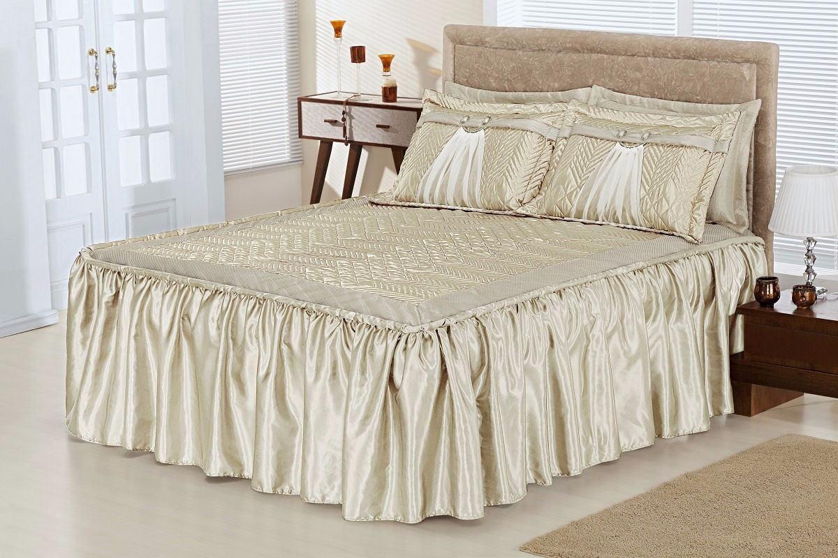08cbefe3d2 colcha lisboa para quarto cama casal queen size - palha. Carregando zoom.