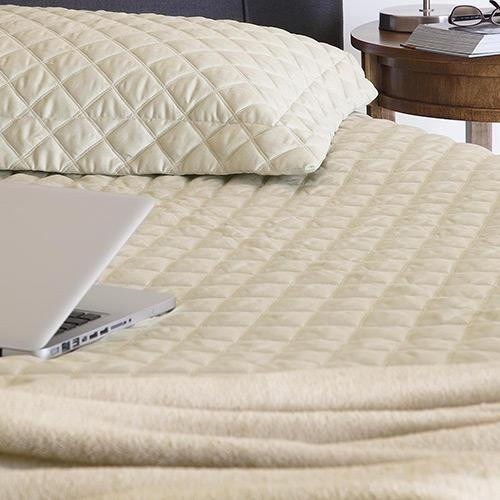 7c8beeb794 Colcha Matelassê Sleep Casal Padrão Com Porta Travesseiro - R  60