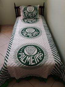 31fbf5a4dd Colcha Solteiro Palmeiras no Mercado Livre Brasil
