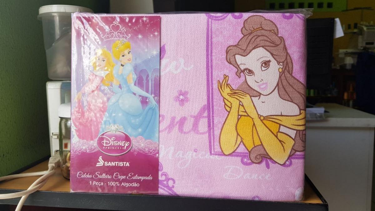 b062475315 colcha piquet solteiro princesas 1 peça - 100% algodão. Carregando zoom.