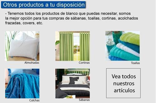 colcha quilt cover le karim 1 1/2 plazas cubrecama verano