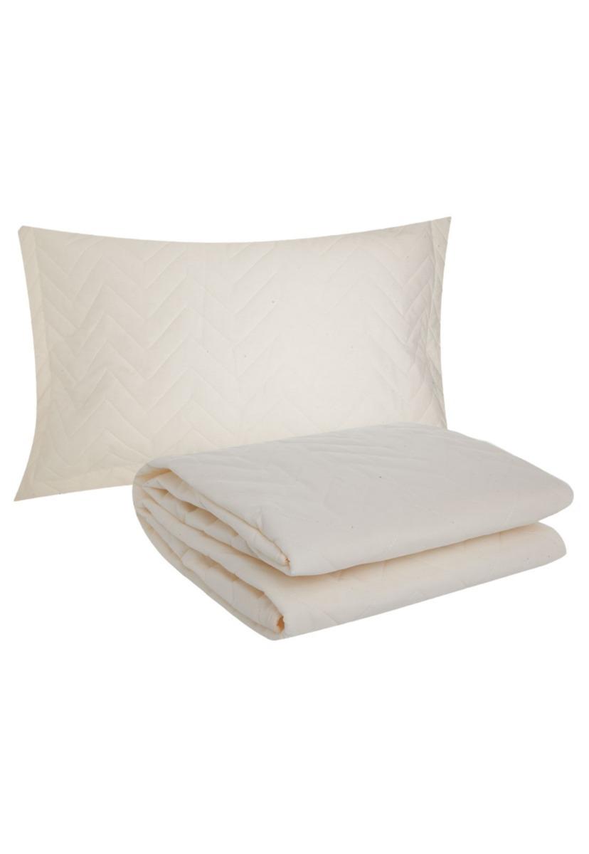 cd1630cb1a colcha solteiro c  porta 2 travesseiro luxo matelassê sleep. Carregando zoom .