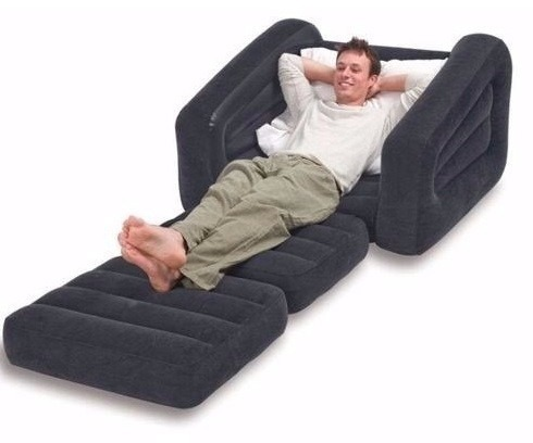 Colchao Puff Poltrona Papai Sofa Cadeira Infl 225 Vel