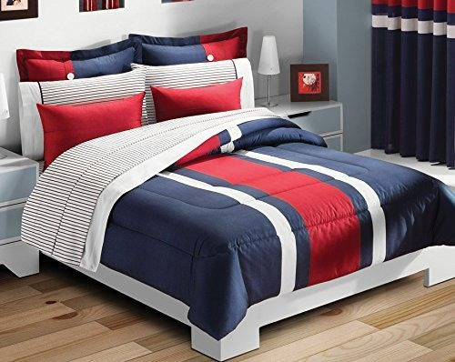 Colchas concord tomy edred n 2 vistas king color azul - Lexington ropa de cama ...