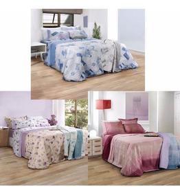 98ce8de97 Colchas X3 Palette Quilt Cubrecamas 1 1/2 Plazas Covers Once