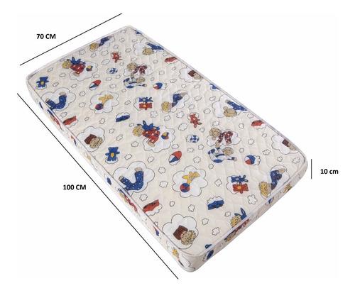 colchão baby para berço desmontável 100x70 - medida especial