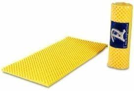 colchão caixa de ovo lukspuma solteiro anti escaras amarelo