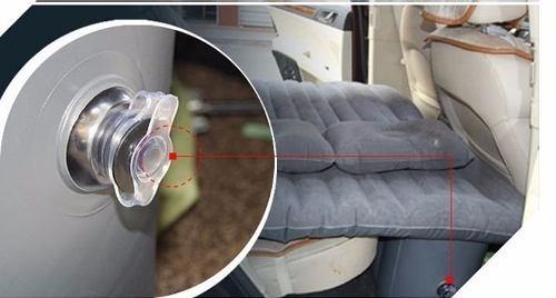 colchão infável dormir no carro trabalhador cochilo soneca