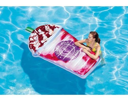 colchão infl piscina milk shake - intex 58777