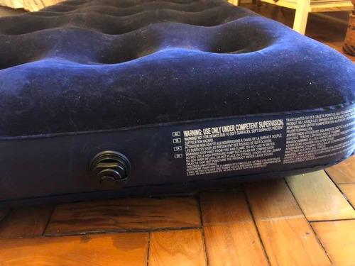 colchão inflavel + bomba