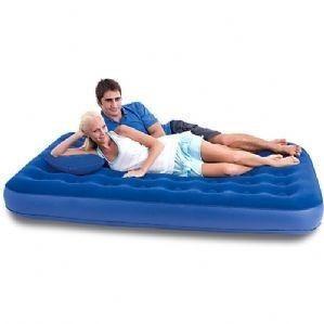 colchão inflável casal bestway com bomba de inflar q1