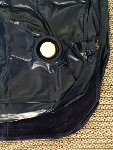 colchão inflável de solteiro + kit reparo / nautika