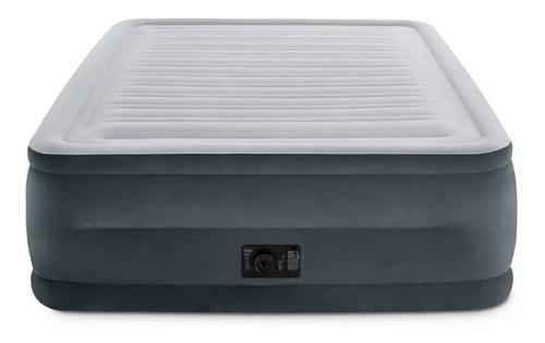 colchão inflável elevado intex comfort plush- queen 272kg