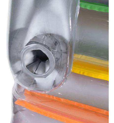 colchão inflável flutuante brisa