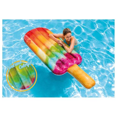 colchão inflável para piscina picolé colorido