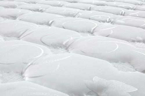 colchão king de molas verticoil com europillow espuma soft