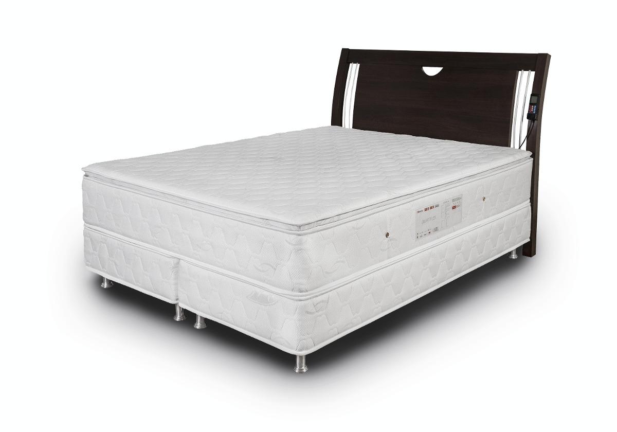 colch o magn tico nipponflex smart com masseador king size r em mercado livre. Black Bedroom Furniture Sets. Home Design Ideas
