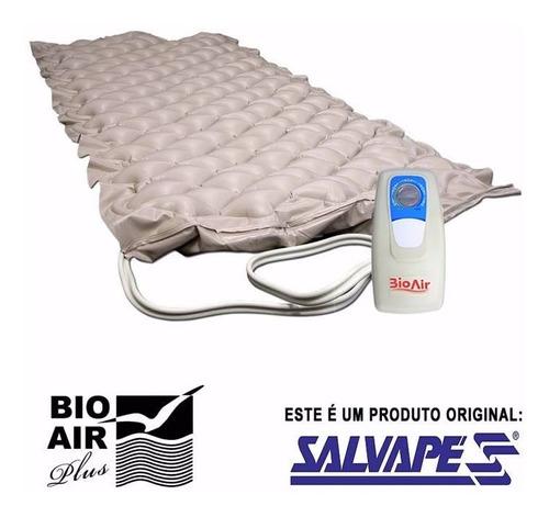 colchão pneumatico antiescaras bio air 110 v - salvapé