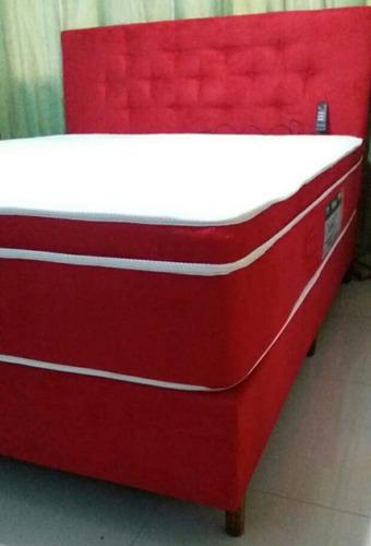 colchão queen magnético com massagem