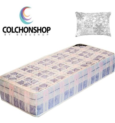 colchon 1 plaza 1/2  espuma  190*100*20cm + almohada!