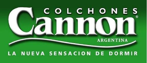 colchón 1 plaza 80x190x18 alta densidad 22 kg cannon tropical garantía 5 años!! envío caba gratis!! cuotas sin interés!!