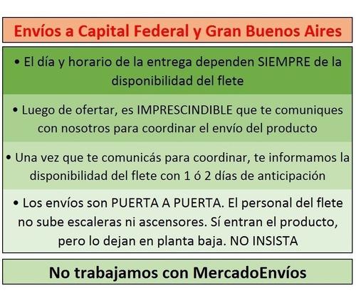 colchón 1 plaza 80x190x20 alta densidad 28 kg garantía 1 año!!! envío capital federal gratis!!!