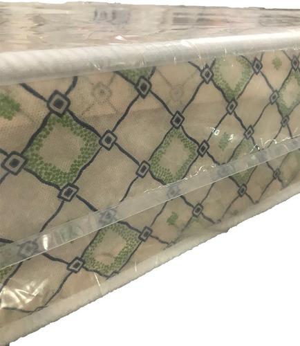 colchon 1 plaza cannon clásico espuma entera 80x17x190